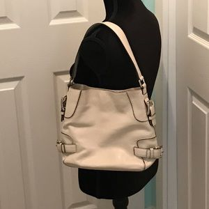 MICHAEL Michael Kors Cream Hobo Bag